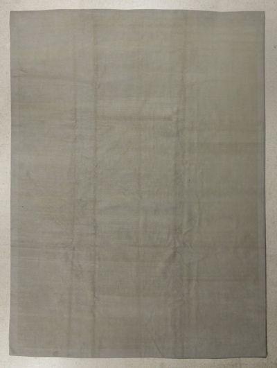 Ivory Modern Rug #7664 • 9′2″ x 12′2″ • Wool on Silk