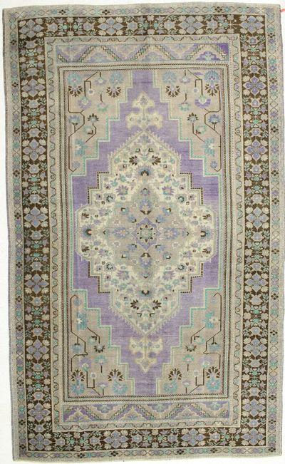 Purple Konya Rug #2072 • 7′6″ x 12′7″ • 100% Wool