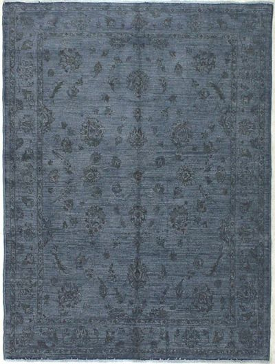Gray Over Dyes Rug #8219 • 5′9″ x 7′8″ • 100% Wool