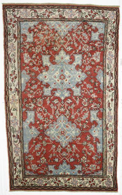 Red Konya Rug #30 • 6′4″ x 10′5″ • 100% Wool