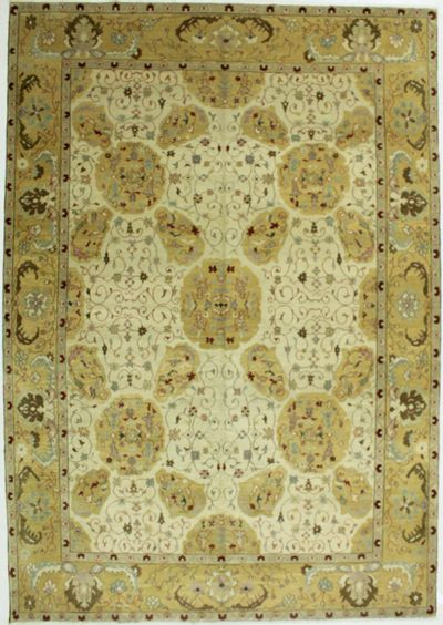 Gold Esme Rug #537 • 9′1″ x 13′0″ • 100% Wool
