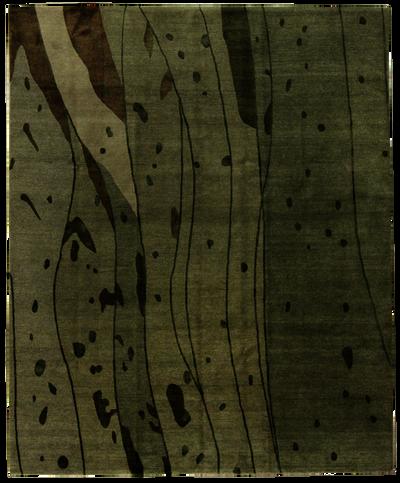 Ivory Modern Rug #7795 • 8′0″ x 10′0″ • 100% Wool