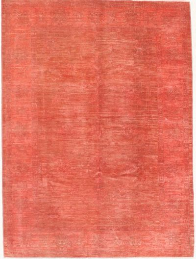 Red Modern Rug #7140 • 5′7″ x 7′7″ • 100% Wool