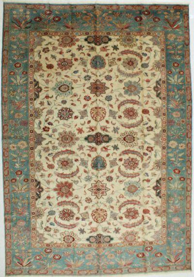 Ivory Sivas Rug #602 • 9′3″ x 13′5″ • 100% Wool