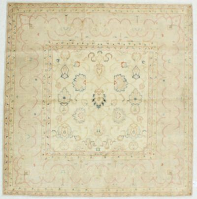Gold Karaman Rug #516 • 6′8″ x 6′9″ • 100% Wool