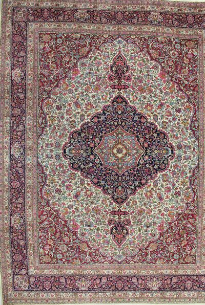 Multicolor Kerman Rug #1156 • 11′11″ x 15′5″ • Wool on Cotton