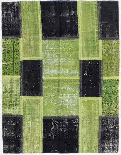 Black Over Dyes Rug #2094 • 5′0″ x 6′6″ • 100% Wool