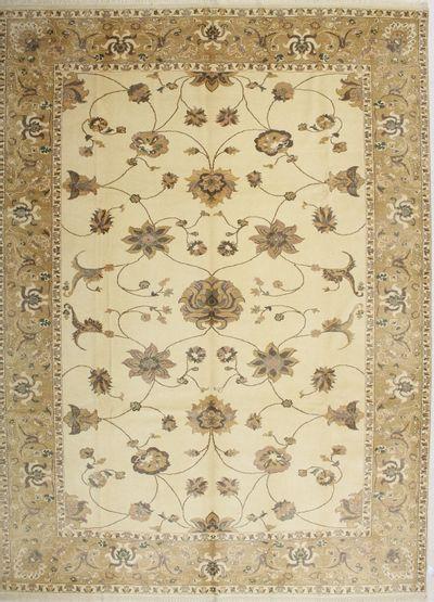 Ivory Sivas Rug #1479 • 10′4″ x 14′0″ • 100% Wool