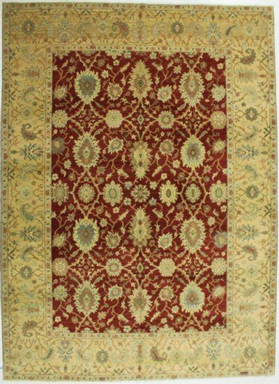 Red Gordes Rug #531 • 9′11″ x 13′10″ • 100% Wool