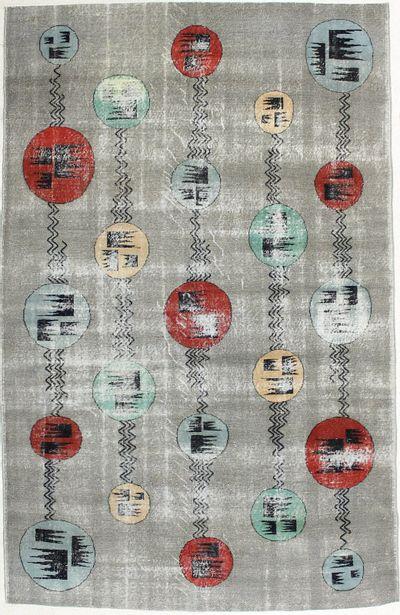 Multicolor Modern Rug #1947 • 6′10″ x 10′9″ • 100% Wool