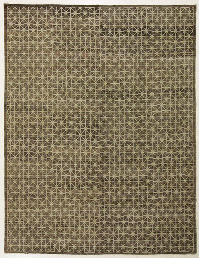 Brown Ariana Rug #7673 • 8′10″ x 12′0″ • 100% Wool