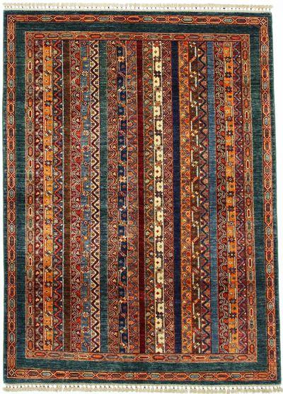 Multicolor Shall Rug #1155 • 4′10″ x 6′8″ • 100% Wool