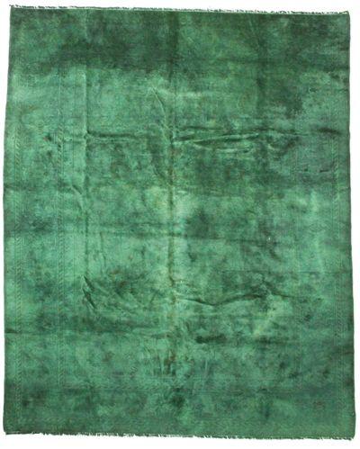 Green Modern Rug #8526 • 7′1″ x 8′8″ • 100% Wool