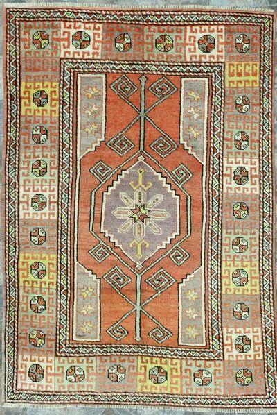 Red Konya Rug #169 • 4′6″ x 6′6″ • 100% Wool