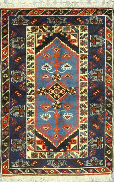 NAVY Dosemealti Rug #446 • 3′10″ x 5′9″ • 100% Wool