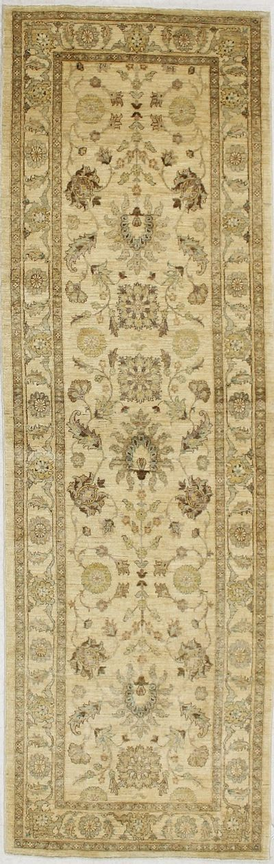 Gold Ushak Rug #2364 • 4′0″ x 12′7″ • 100% Wool