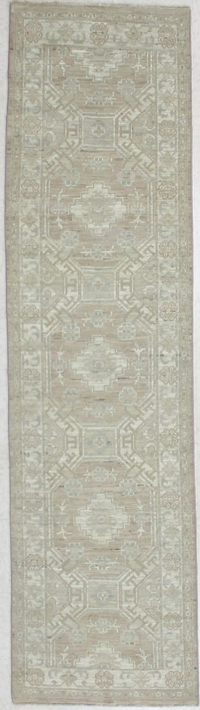Light Brown Kothan Rug #2840 • 2′6″ x 9′6″ • Wool on Cotton