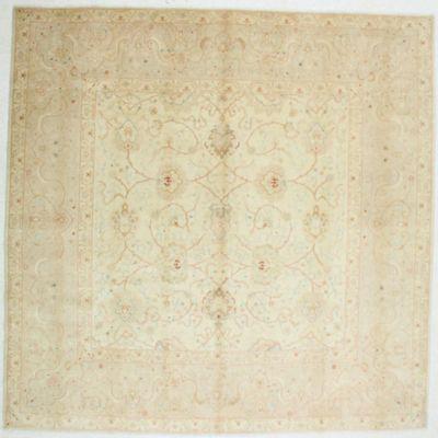 Gold Karaman Rug #517 • 9′6″ x 9′9″ • 100% Wool