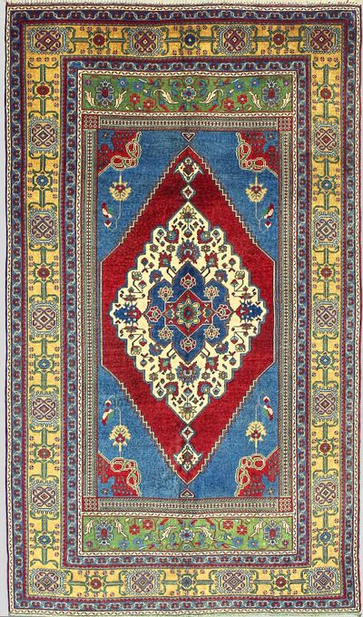Red Taspinar Rug #7220 • 6′1″ x 10′5″ • 100% Wool