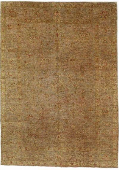 Gray Modern Rug #8603 • 5′6″ x 7′8″ • 100% Wool