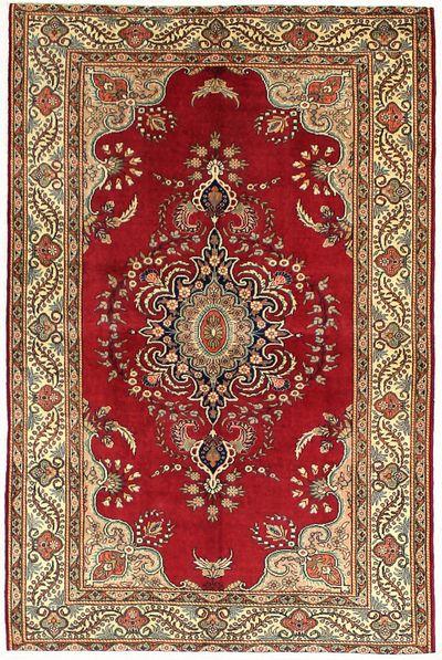 Red Kayseri Rug #7222 • 4′10″ x 7′5″ • 100% Wool