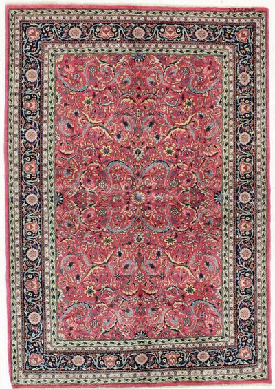 Red Sivas Rug #1738 • 4′10″ x 7′0″ • 100% Wool