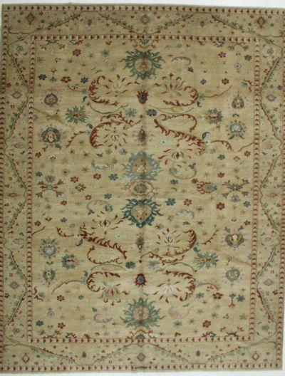 Camel Karaman Rug #553 • 10′6″ x 13′5″ • 100% Wool