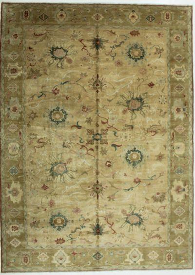 Ivory Sultanabad Rug #678 • 10′2″ x 14′2″ • 100% Wool