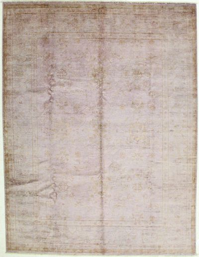 Purple Himalaya Rug #2045 • 8′1″ x 10′7″ • Wool on Silk