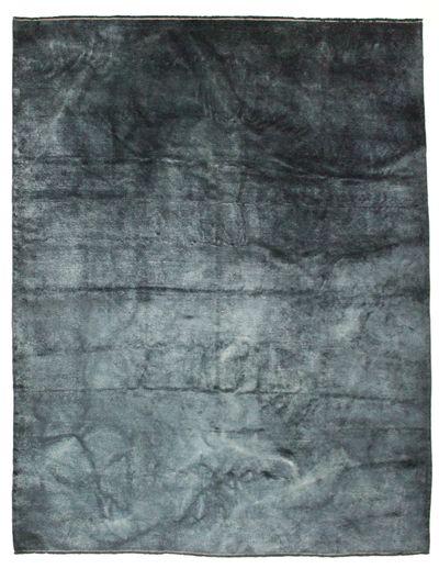 NAVY Modern Rug #8719 • 9′1″ x 11′11″ • 100% Wool