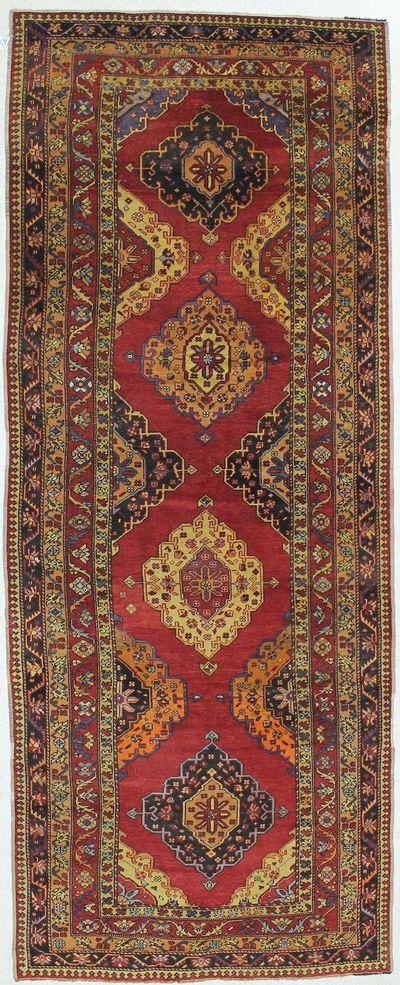 Multicolor Konya Rug #16 • 5′3″ x 13′6″ • 100% Wool