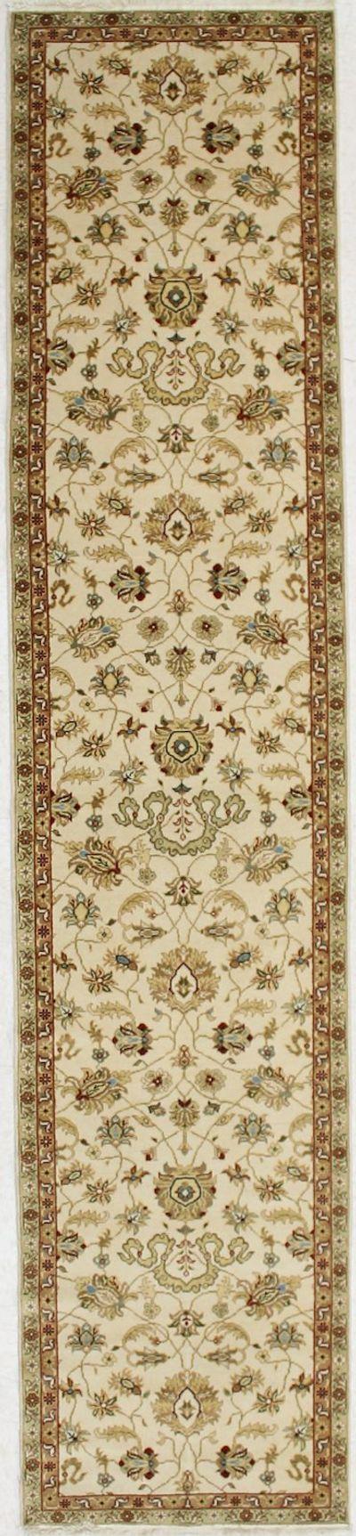 Ivory Sivas Rug #2027 • 2′9″ x 12′8″ • 100% Wool