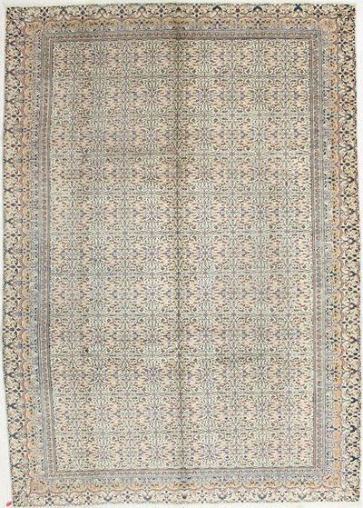 Ivory Kayseri Rug #2056 • 8′4″ x 11′7″ • 100% Wool