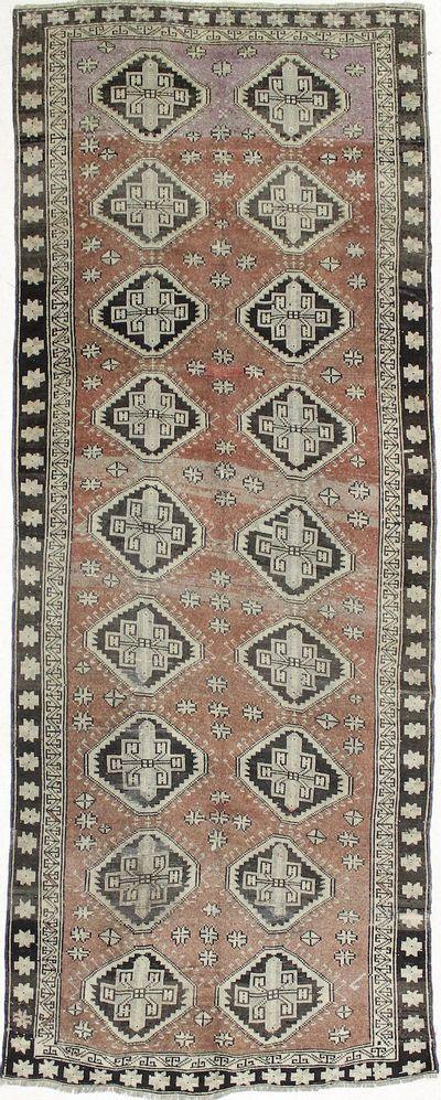 Rust Konya Rug #1170 • 4′6″ x 11′9″ • 100% Wool