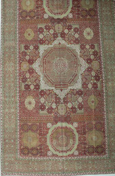 Red Ottoman Rug #8741 • 10′6″ x 19′0″ • 100% Wool