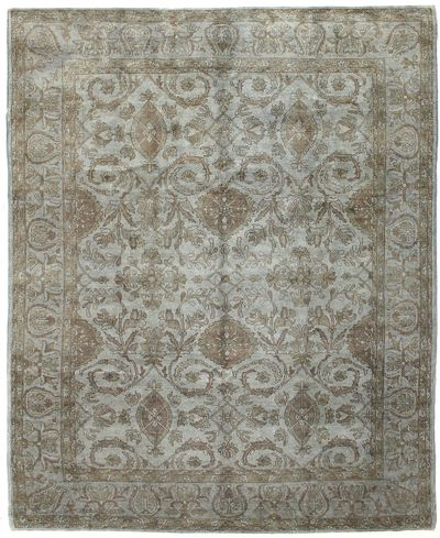 Gray Over Dyes Rug #7257 • 8′2″ x 10′0″ • Wool on Cotton