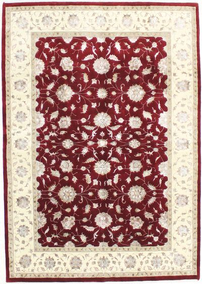 Red Ushak Rug #1545 • 5′9″ x 8′2″ • Wool on Cotton