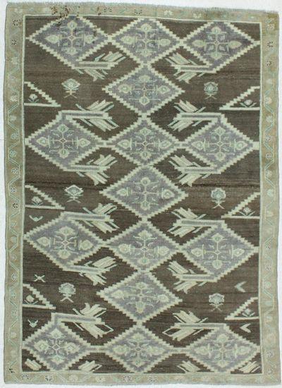 Purple Konya Rug #920 • 6′2″ x 8′5″ • 100% Wool