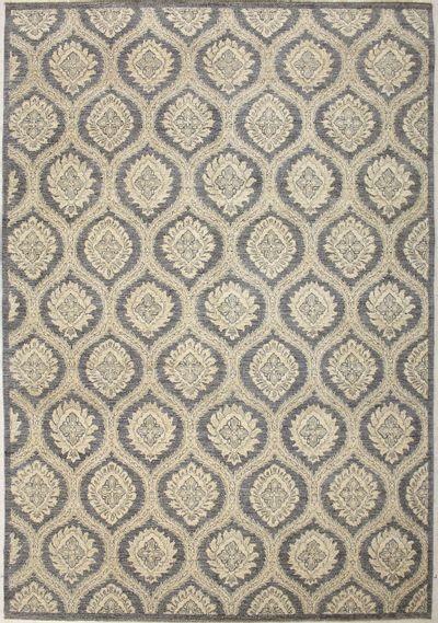 Gray Ushak Rug #7428 • 9′0″ x 13′1″ • 100% Wool