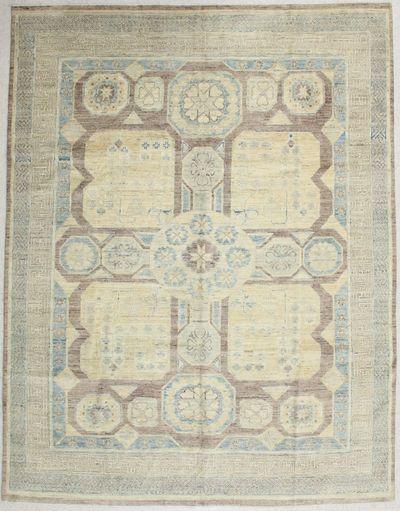 Gold Kothan Rug #6526 • 7′11″ x 9′10″ • Wool on Cotton