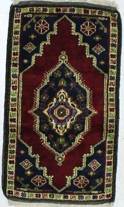 Red Konya Rug #917 • 1′9″ x 3′1″ • 100% Wool