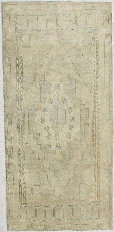 Gold Konya Rug #1900 • 4′11″ x 10′6″ • 100% Wool