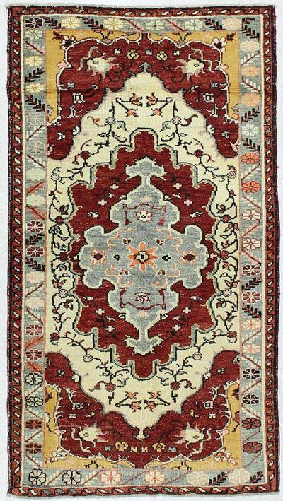 Multicolor Konya Rug #75 • 3′5″ x 6′2″ • 100% Wool
