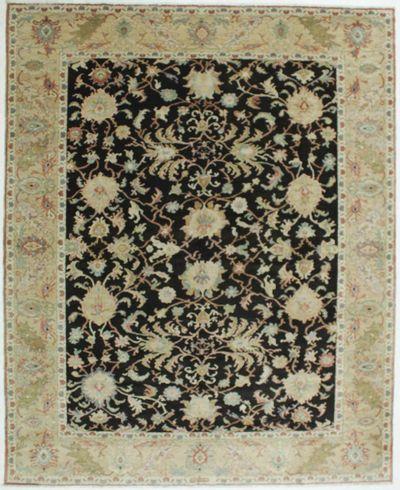 Black Karaman Rug #543 • 9′3″ x 11′5″ • 100% Wool