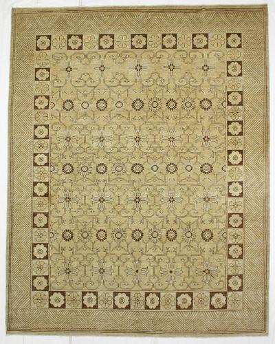Ivory Kothan Rug #950 • 8′3″ x 10′4″ • Wool on Cotton