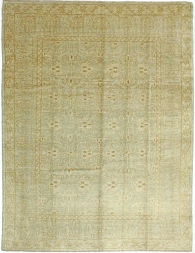 Light Blue Gordes Rug #522 • 8′3″ x 10′8″ • 100% Wool