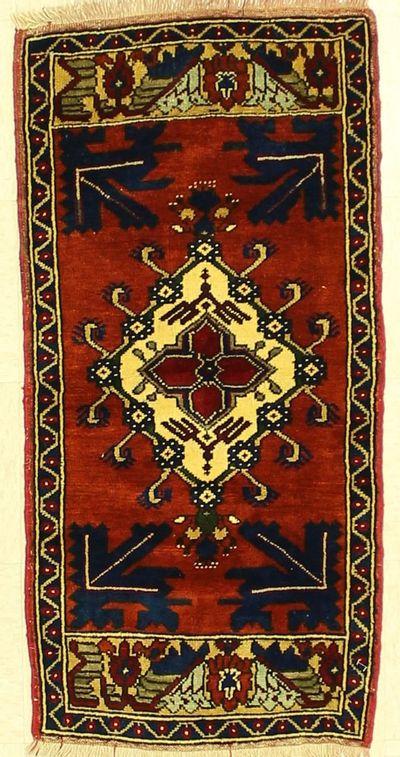 Rust Taspinar Rug #1339 • 2′0″ x 4′1″ • 100% Wool