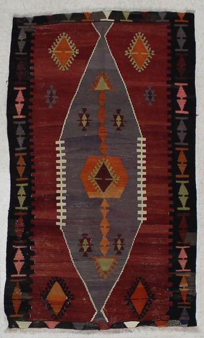 Peach Sivas Rug #1525 • 2′10″ x 5′0″ • 100% Wool