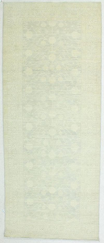 Gray Kothan Rug #951 • 5′0″ x 12′3″ • Wool on Cotton