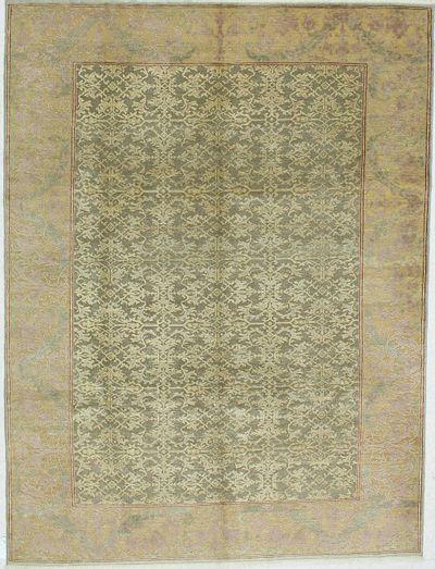 Green Sivas Rug #584 • 6′10″ x 9′1″ • 100% Wool